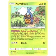 Karrablast 7/111 - Invasão Carmim - Card Pokémon
