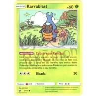 Karrablast - Reverse Holo 7/111 - Invasão Carmim - Card Pokémon