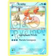 Krabby 13/119 - Força Fantasma - Card Pokémon
