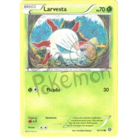 Larvesta 14/114 - Cerco de Vapor - Card Pokémon