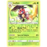 Ledian 10/147 - Sombras Ardentes - Card Pokémon