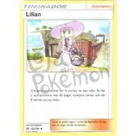 Lílian 122/149 - Sol e Lua - Card Pokémon