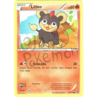 Litleo 22/114 - Cerco de Vapor - Card Pokémon