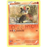 Litleo 18/106 - Flash de Fogo - Card Pokémon