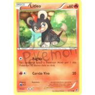 Litleo 11/119 - Força Fantasma - Card Pokémon