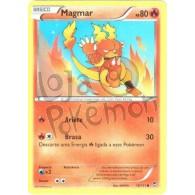 Magmar 10/111 - Punhos Furiosos - Card Pokémon