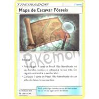 Mapa de Escavar Fósseis - Reverse Holo 107/131 - Luz Proibida - Card Pokémon