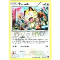 Meowth 88/114 - Cerco de Vapor - Card Pokémon