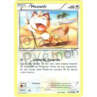 Meowth 114/162 - Turbo Revolução - Card Pokémon