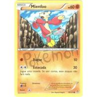 Mienfoo 56/111 - Punhos Furiosos - Card Pokémon