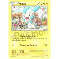 Minun 32/111 - Punhos Furiosos - Card Pokémon