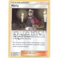 Morty 186/214 - Trovões Perdidos - Card Pokémon