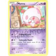 Munna 39/119 - Força Fantasma - Card Pokémon