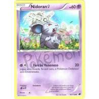 Nidoran Fêmea 40/116 - Congelamento de Plasma - Card Pokémon