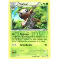 Nuzleaf 10/114 - Cerco de Vapor - Card Pokémon