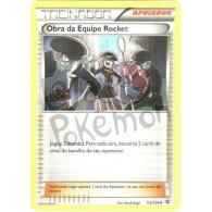 Obra da Equipe Rocket 112/124 - Fusão de Destinos - Card Pokémon