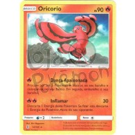 Oricorio - Reverse Holo 14/145 - Guardiões Ascendentes - Card Pokémon
