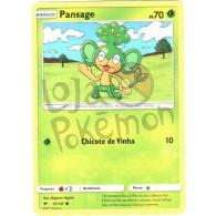 Pansage 12/147 - Sombras Ardentes - Card Pokémon