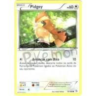 Pidgey 75/106 - Flash de Fogo - Card Pokémon