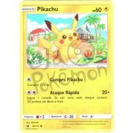 Pikachu - Reverse Holo 30/111 - Invasão Carmim - Card Pokémon