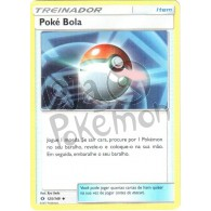 Poké Bola 125/149 - Sol e Lua - Card Pokémon