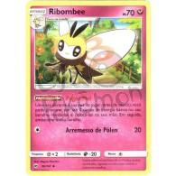 Ribombee - Reverse Holo 96/147 - Sombras Ardentes - Card Pokémon