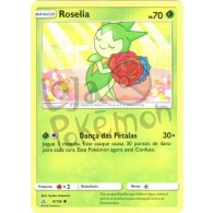 Roselia - Reverse Holo 4/156 - Ultra Prisma - Card Pokémon