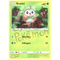 Rowlet 9/149 - Sol e Lua - Card Pokémon
