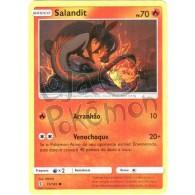 Salandit 15/145 - Guardiões Ascendentes - Card Pokémon