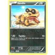 Sandile 68/116 - Congelamento de Plasma - Card Pokémon