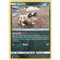 Sandile - Reverse Holo 113/214 - Elos Inquebráveis - Card Pokémon