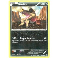 Sandile 56/106 - Flash de Fogo - Card Pokémon