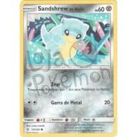 Sandshrew de Alola 137/236 - Eclipse Cósmico - Card Pokémon