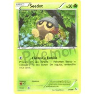 Seedot 5/106 - Flash de Fogo - Card Pokémon