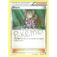 Shauna  127/146 - X Y - Card Pokémon