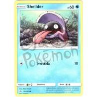 Shellder 33/149 - Sol e Lua - Card Pokémon