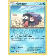 Shellder 22/122 - Turbo Colisão - Card Pokémon