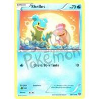 Shellos 28/114 - Cerco de Vapor - Card Pokémon