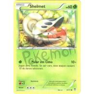 Shelmet 8/111 - Punhos Furiosos - Card Pokémon