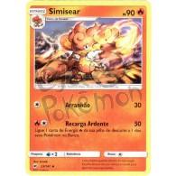 Simisear 23/147 - Sombras Ardentes - Card Pokémon