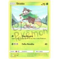 Skiddo - Reverse Holo 9/131 - Luz Proibida - Card Pokémon