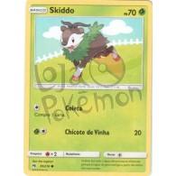 Skiddo 35/214 - Trovões Perdidos - Card Pokémon