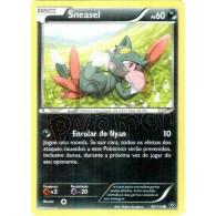 Sneasel 60/114 - Cerco de Vapor - Card Pokémon