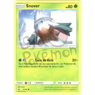 Snover 3/131 - Luz Proibida - Card Pokémon