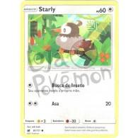 Starly 81/111 - Invasão Carmim - Card Pokémon