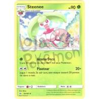 Steenee - Reverse Holo 19/149 - Sol e Lua - Card Pokémon
