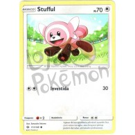 Stufful - Reverse Holo 111/149 - Sol e Lua - Card Pokémon