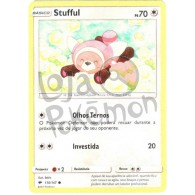 Stufful 110/147 - Sombras Ardentes - Card Pokémon