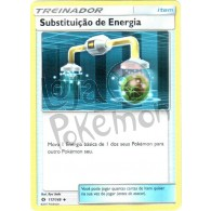 Substituição de Energia - Reverse Holo 117/149 - Sol e Lua - Card Pokémon