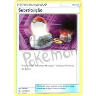 Substituição - Reverse Holo 132/149 - Sol e Lua - Card Pokémon